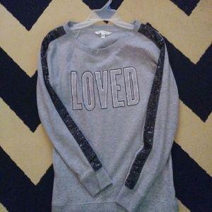 Victoria's Secret sequined sweater.